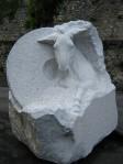 Lieu de Mémoire Marbre de St. Béat 130x150x170