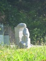 Deux oiseaux Granit de Corse 50x75x100