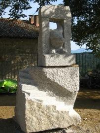 A scala purcina granit Quenza, Corse