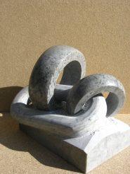 Alliance marbre gris-bleuté de Savoie 30x20x18
